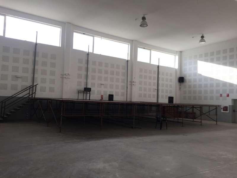 El multiusos mejorará la acústica