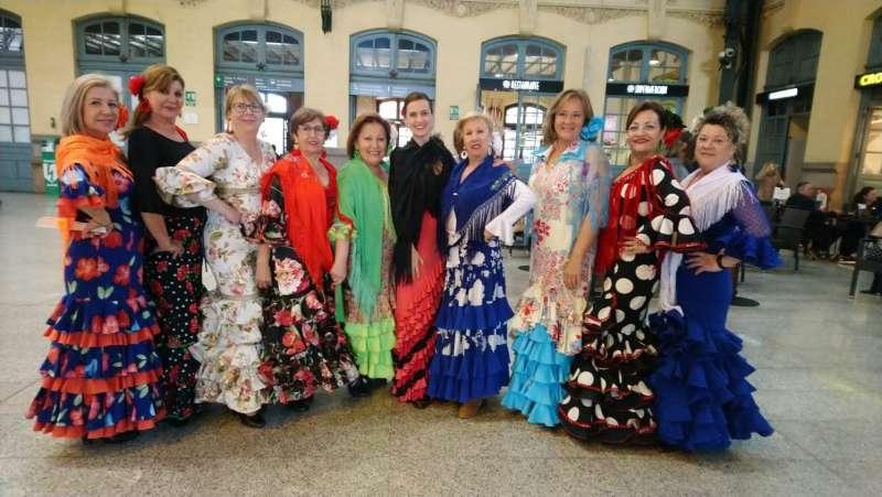 Artistas del baile que van a participar en el evento. / EPDA