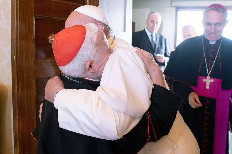 Cañizares, con el Papa Francisco