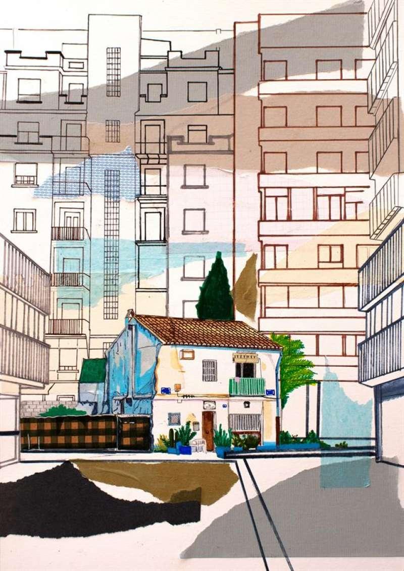 Ilustración de Alejandra de la Torre que formará parte de la expo.