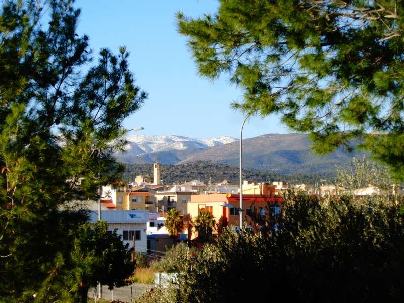 Vista de Casinos desde la Ermita