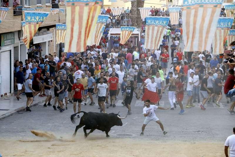 Festejos taurinos en Puçol. EPDA