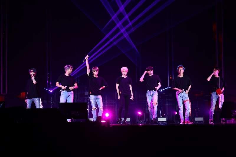 La banda surcoreana, BTS. EPDA