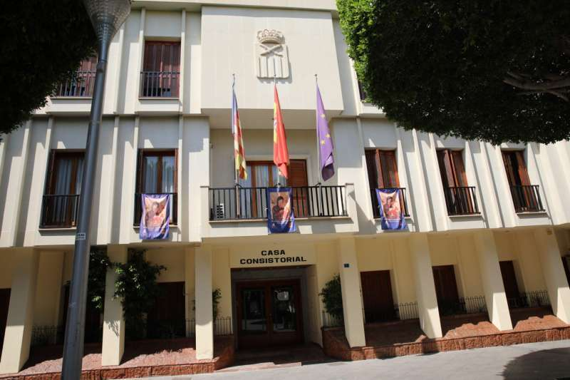Ayuntamiento de Almoradí./EPDA