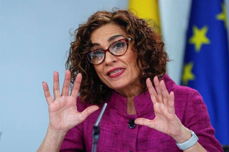 La portavoz del Gobierno, María Jesús Montero. EPDA/Archivo
