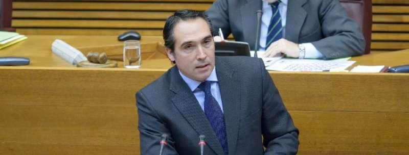 El diputado castellonense del PPCV en Les Corts, Rubén Ibáñez
