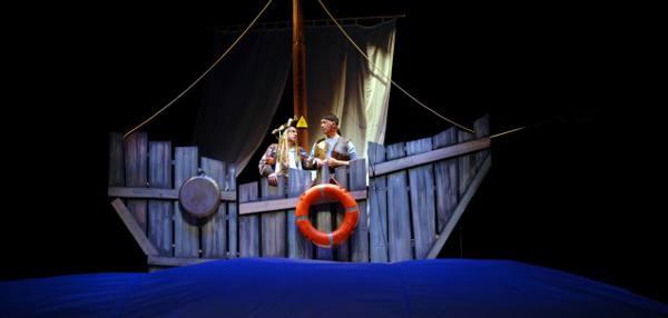 Una escena de la obra de teatro. EPDA