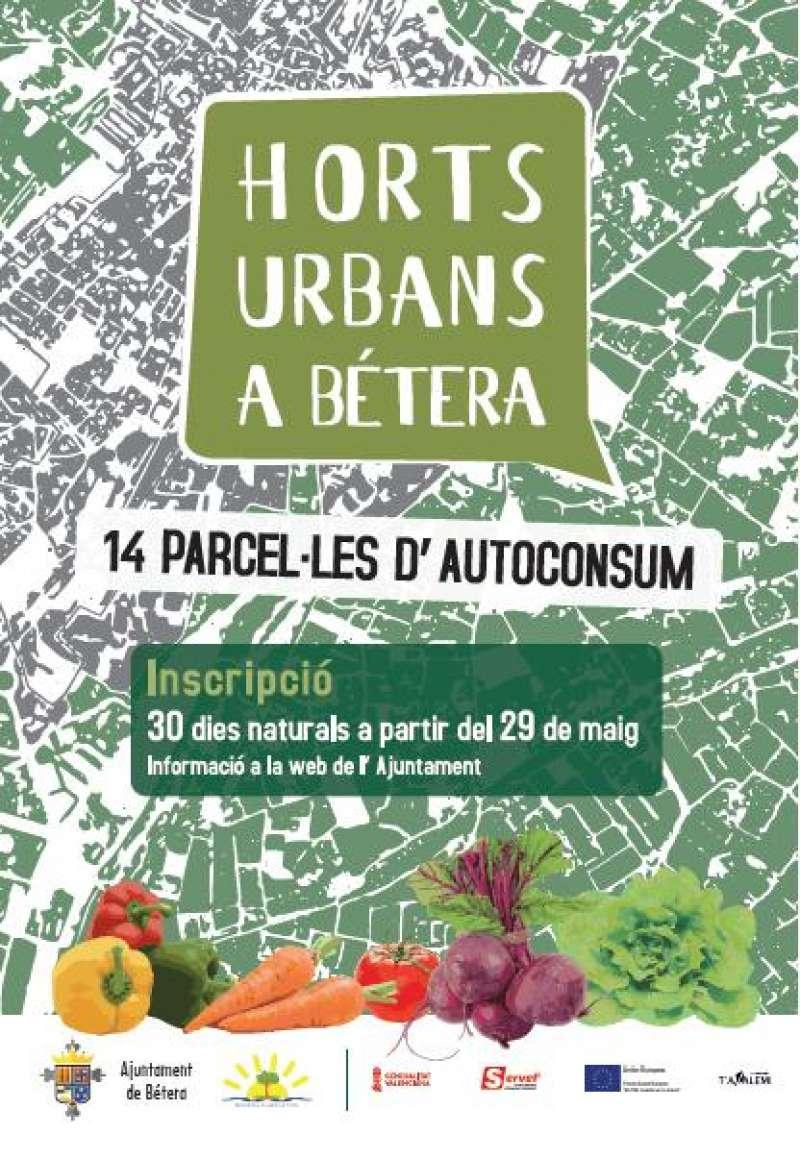 Els horts urbans de Bétera ja estan a disposició de la ciutadania