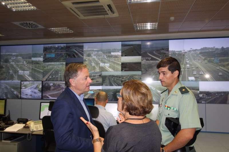 Visita el centro de control de Valencia.