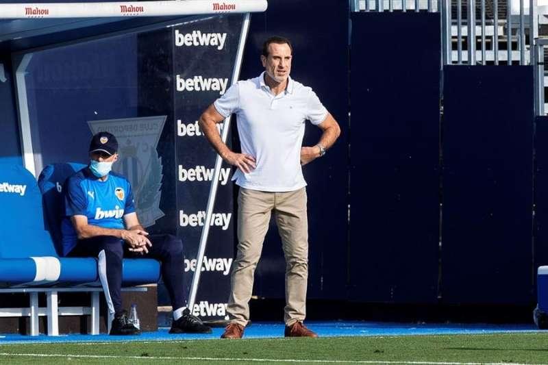 El entrenador del Valencia FC, Salvador González