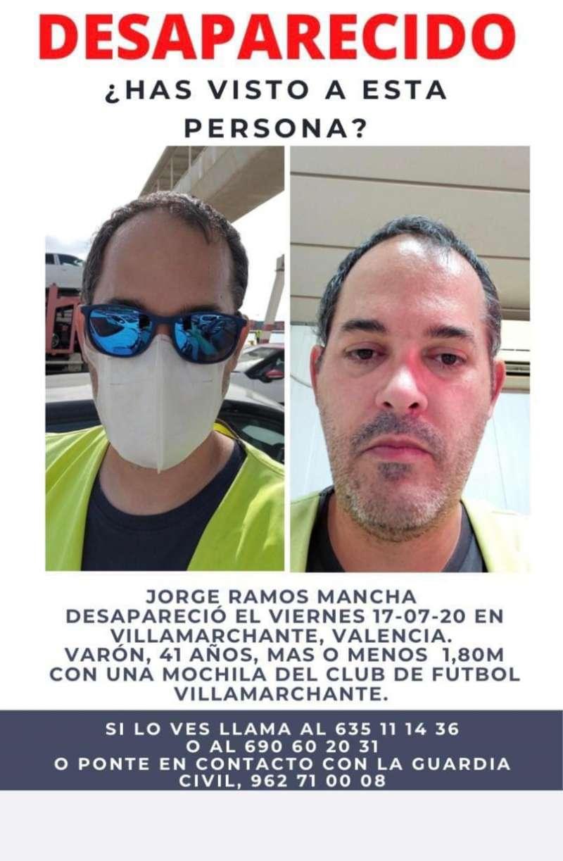 Desaparecido en Vilamarxant. EPDA