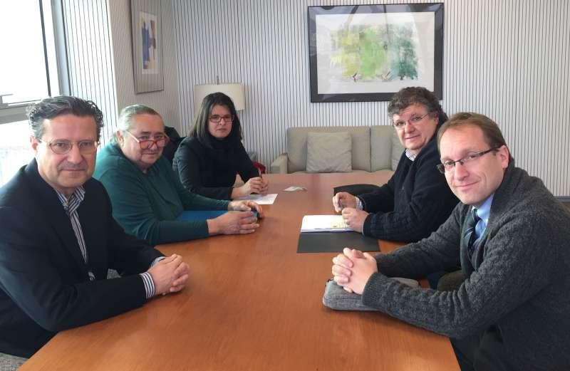 Reunió de representants de la Conselleria, l