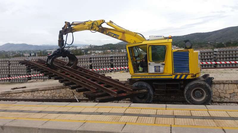 FGV adjudica la adquisición de traviesas para las obras de renovación de vía entre Calp-Teulada