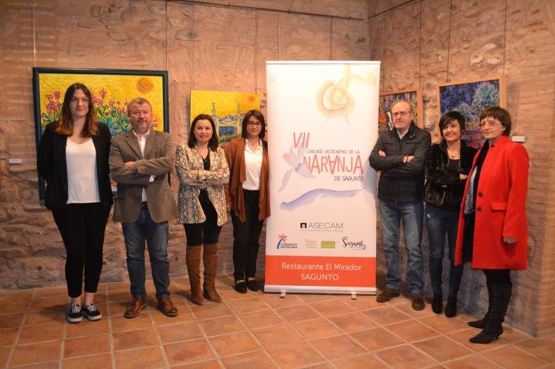 Presentación del VII Concurso Gastronómico de la Naranja de Sagunt. EPDA