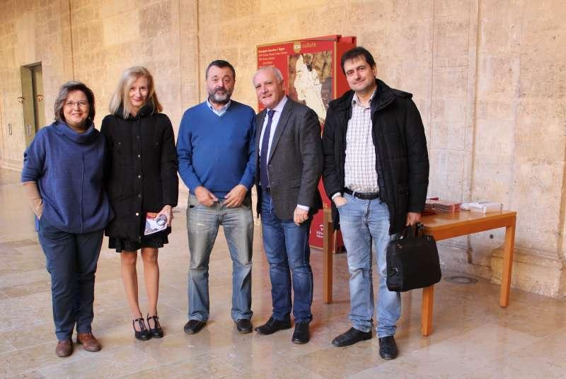 Homenaje a la artista Adelita del Campo y a su marido, Julián Antonio Ramírez. EPDA