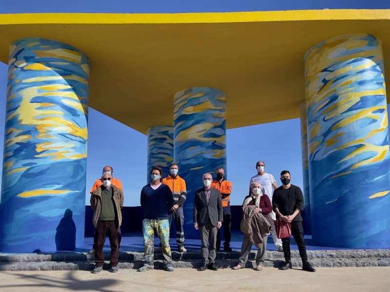 Acto de presentación en Alboraya. EPDA