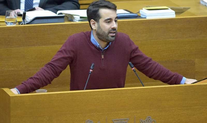 El secretario de Organización del PSPV-PSOE y portavoz socialista de Hacienda en Les Corts Valencianes, Jose Muñoz. -EPDA