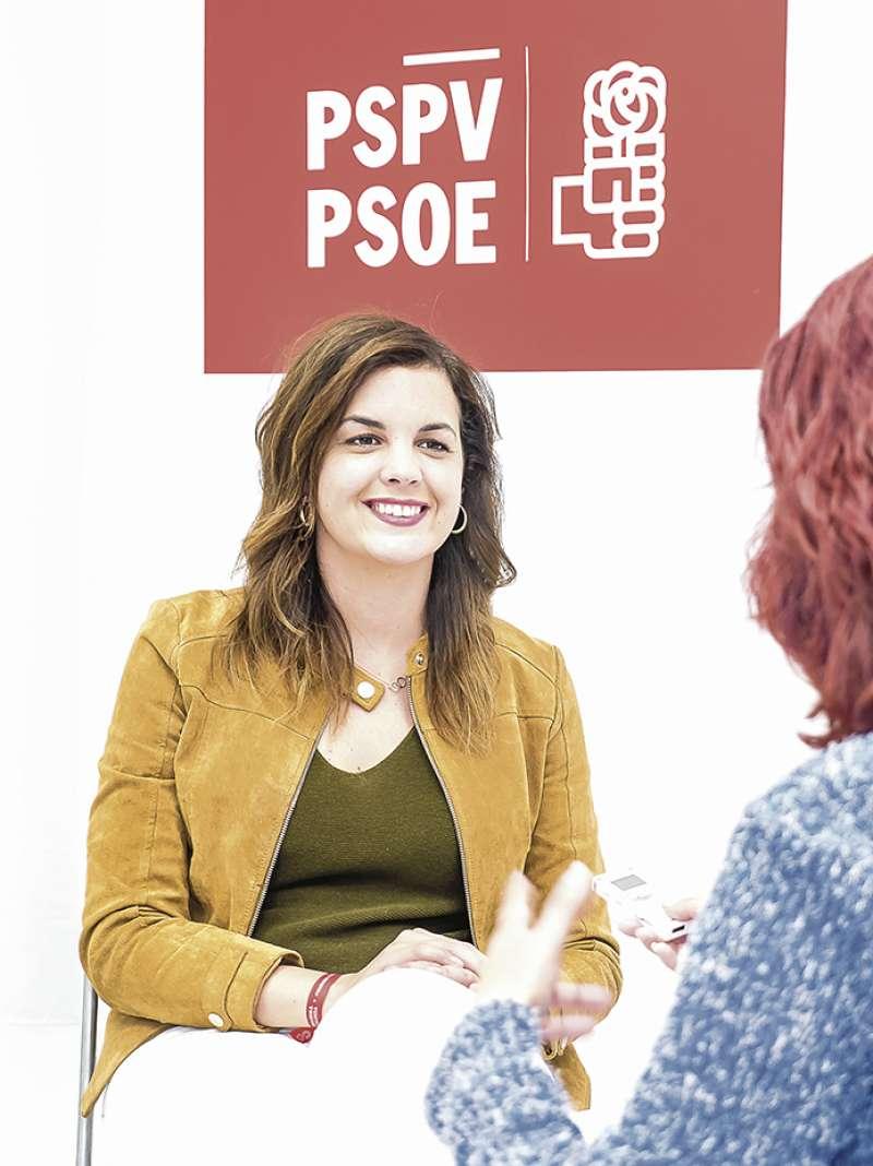Sandra Gómez. FOTO FÉLIX GIMENO