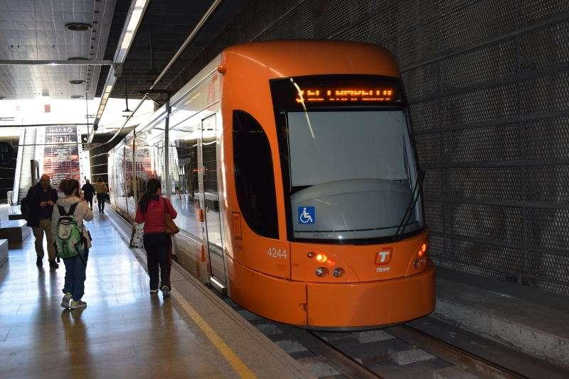 Estación de metro de Alicante. EPDA