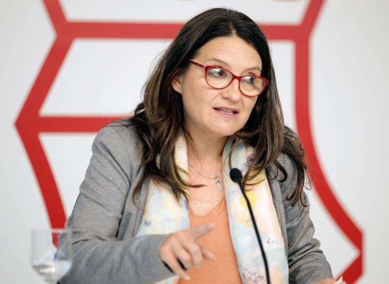 La vicepresidenta del Consell, Mónica Oltra. EFE/Archivo