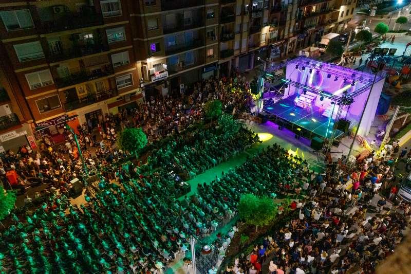 Conciertos durante las Fiestas Patronales. EPDA