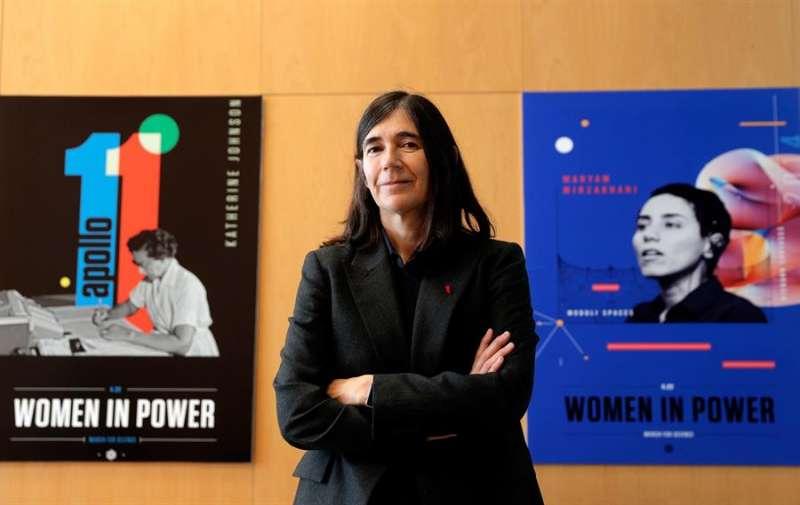 La investigadora y directora del CNIO (Centro Nacional de Investigaciones Oncológicas), María Blasco. EFE/Kai Försterling