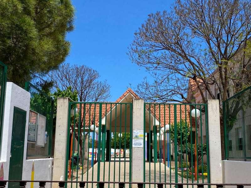 Colegio del municipio de Marines. EPDA.
