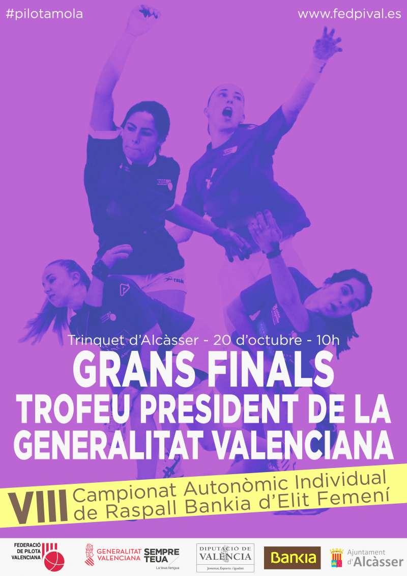 Cartell Grans Finals Trofeu President de la Generalitat Valenciana
