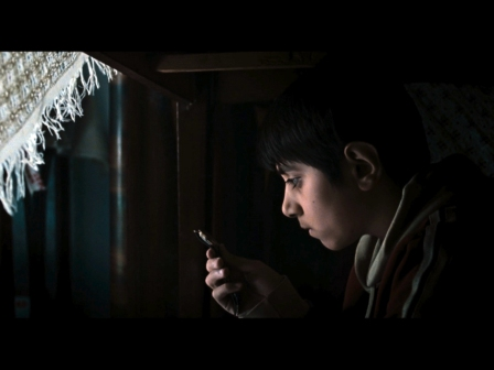 La película Matei Child Miner de Alexandra Gulea, Rumanía, Alemania, Francia, 2013.