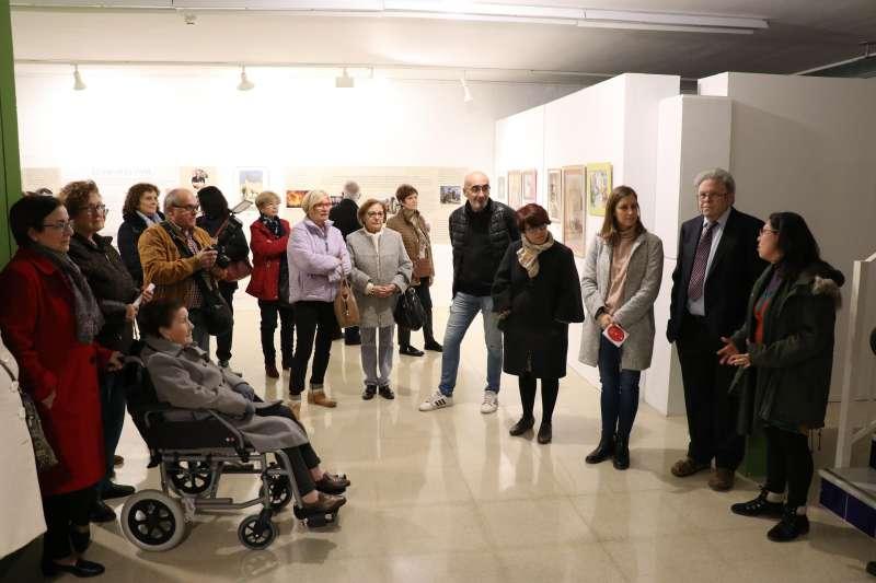 La inauguración de la exposición