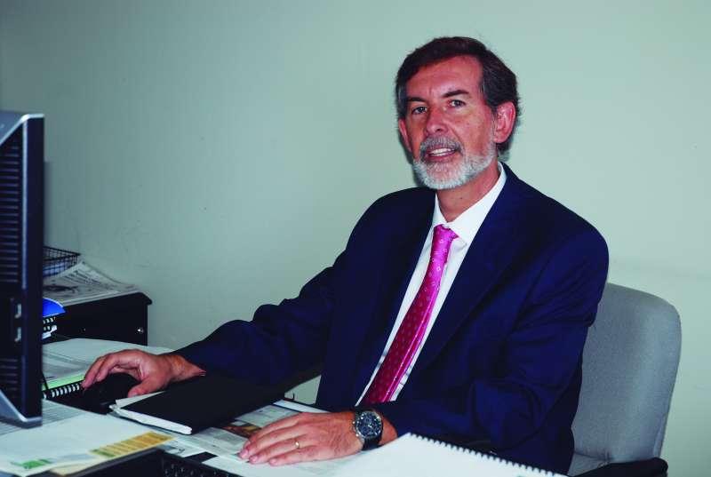 Rosendo Ortí, director general de Caixa Popular. FOTO EPDA