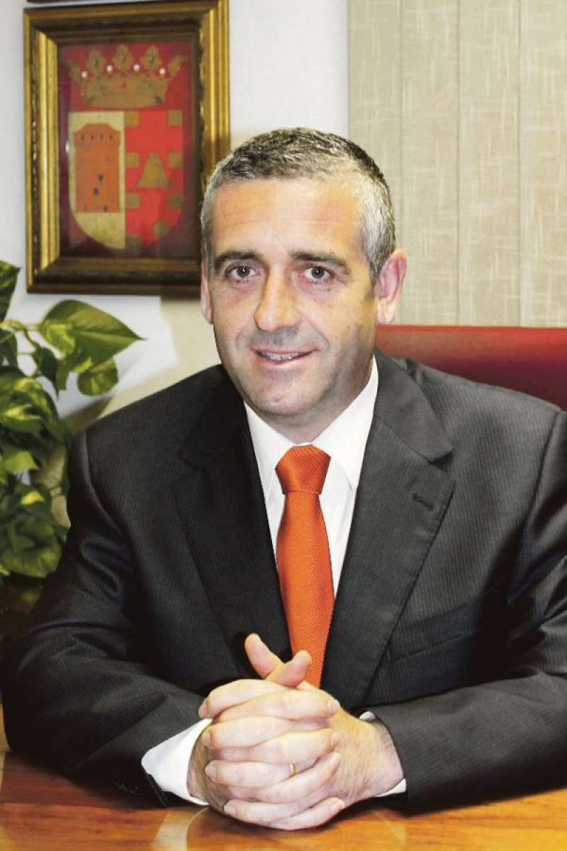 El alcalde de Benavites, Carlos Gil. EPDA