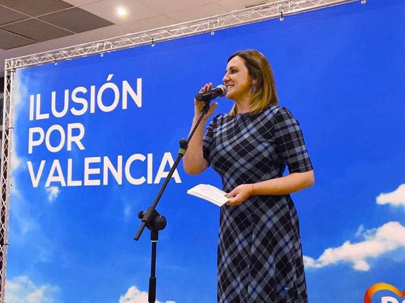 María José Catalá en un acto reciente. EPDA