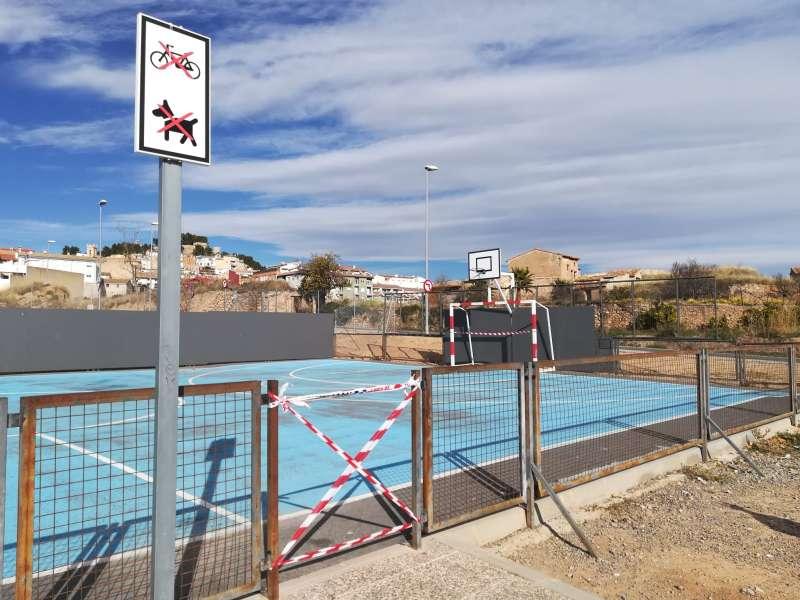 Pistas deportivas de la EU-15 en Segorbe