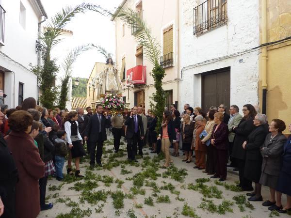 Procesión del Encuentro en Algar. EPDA