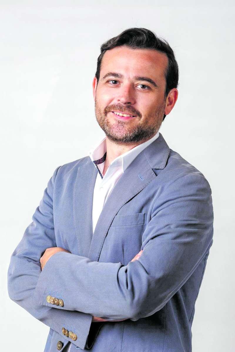 Joaquín María Alés, candidato de Vox. / epda