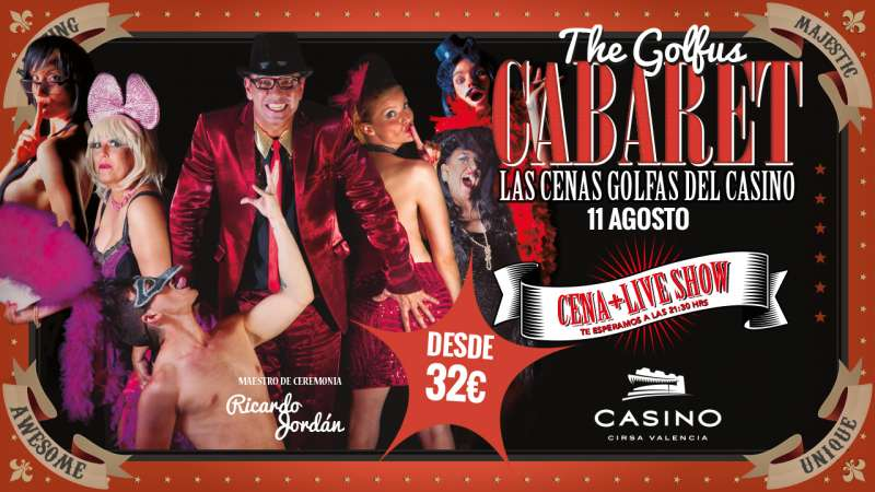 Cartel Golfus Cabaret. EPDA