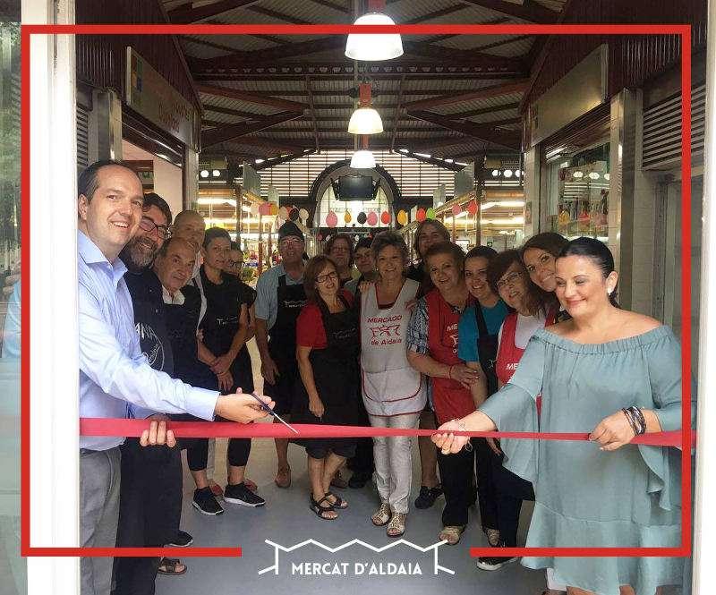 Inauguración de la nueva temporada del Mercado Municipal de Aldaia. EPDA