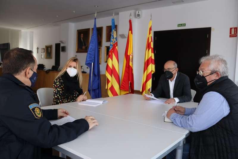 Reunión para establecer el protocolo