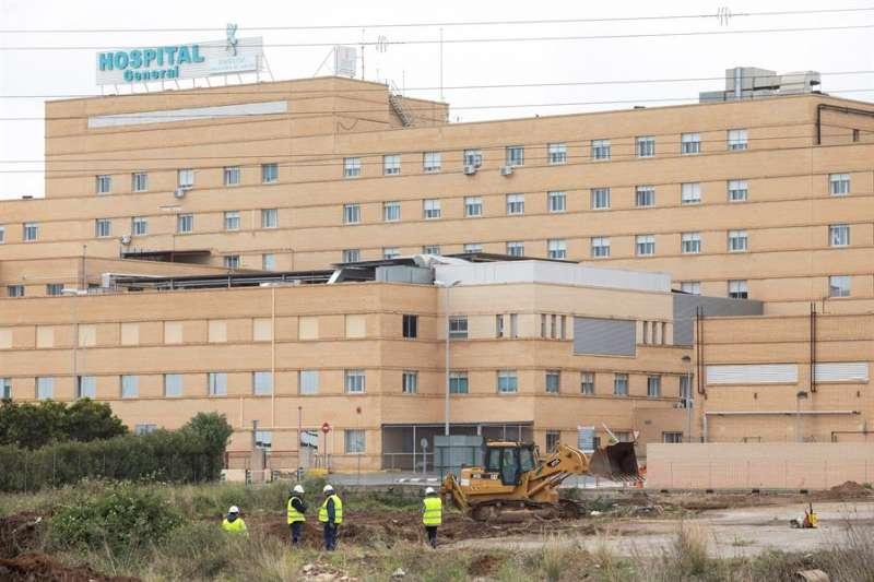 Exterior del Hospital General Universitario de Castellón. EFE