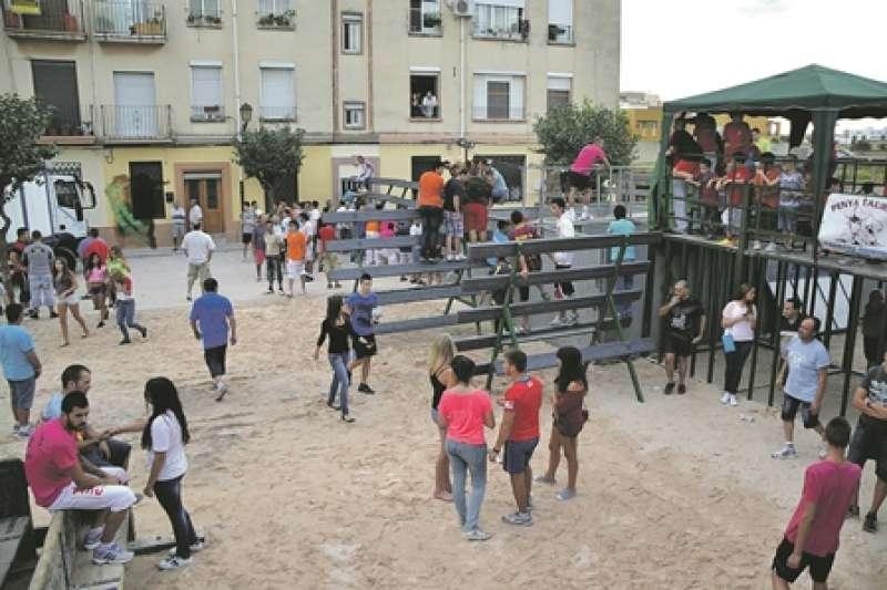Celebración de festejos taurinos en la localidad de Alboraya. EPDA