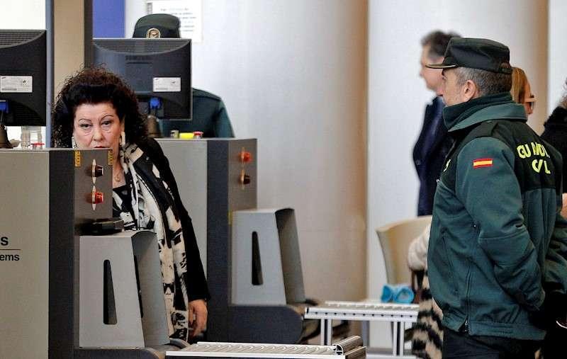 La exdirectora del Instituto Valenciano de Arte Moderno (IVAM) Consuelo Císcar a su llegada a la Ciudad de la Justicia en una imagen de archivo. EFE/Manuel Bruque