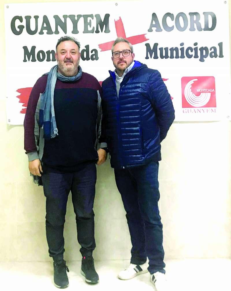 Manolo García y Vicent Conejero. / EPDA