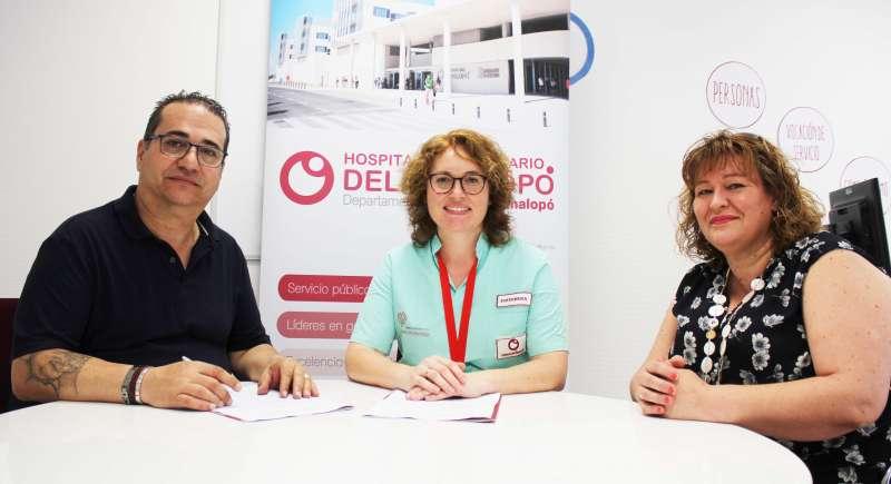 Acuerdo de colaboración con la Asociación Sense Barreres. EPDA