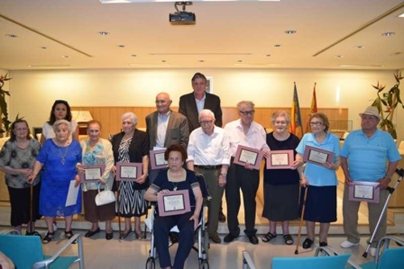 Homenatge als veïns de 90 anys de Sedaví. EPDA