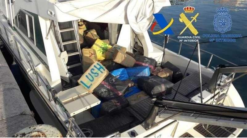 Imagen de la operación facilitada por el Ministerio de Hacienda. EFE