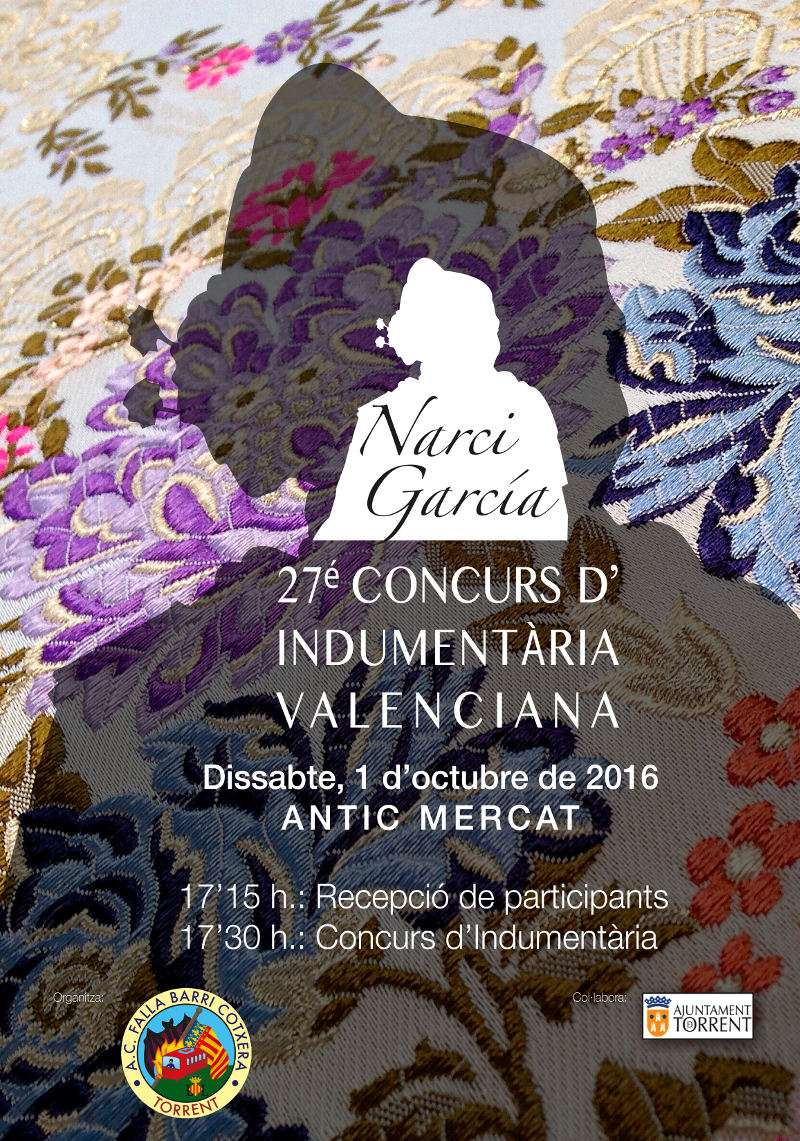 Cartel del concurso Narci García en torrent. EPDA