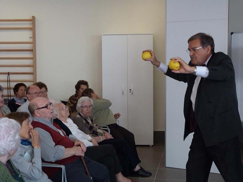 Lesmans, durante su actuación. FOTO EPDA