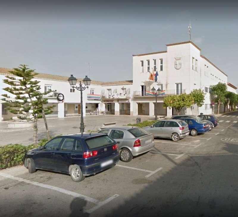 Ayuntamiento de San Antonio. //EPDA