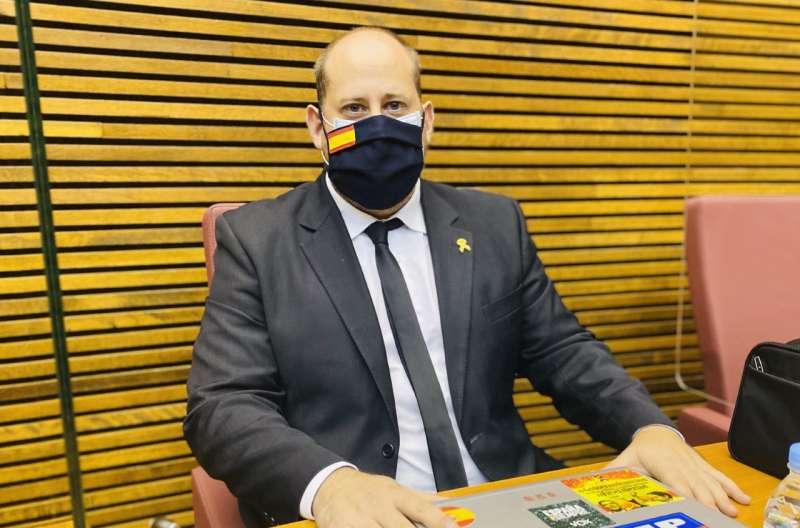 David García, diputado de VOX